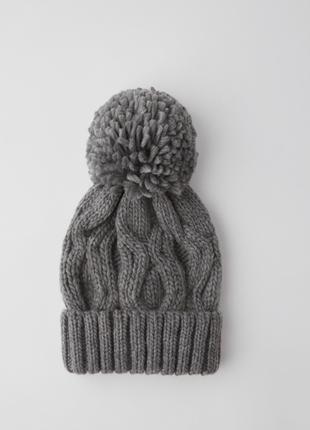 Новая фирменная шапка бинни с помпоном