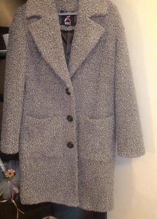 Демисезонное пальто оверсайз размер с