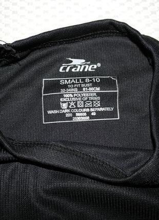 Crane термо реглан спортивная футболка длинный рукав
