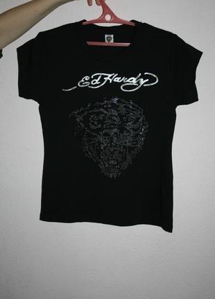 Стильная футболка ed hardy