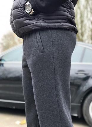 (s, m, l, xl, 2xl, 3xl) зимние мужские штаны от производителя. цвет серый