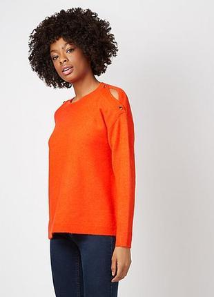 Мягкий оранжевый свитер george