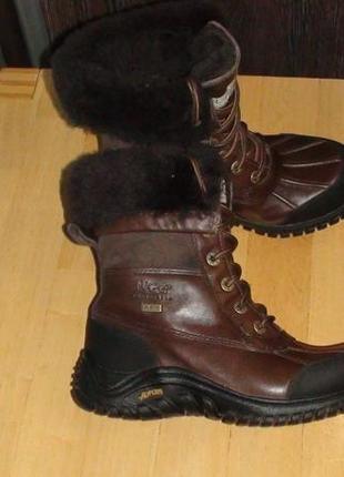Ugg australia - зимові шкіряні черевички. р - 36.