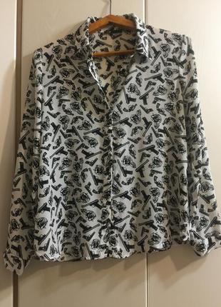 Рубашка oodji (42 размер)