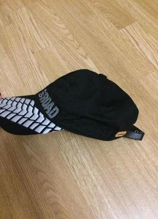 Фирменная черная кепка of road scania,бейсболка унисекс из натуральной ткани