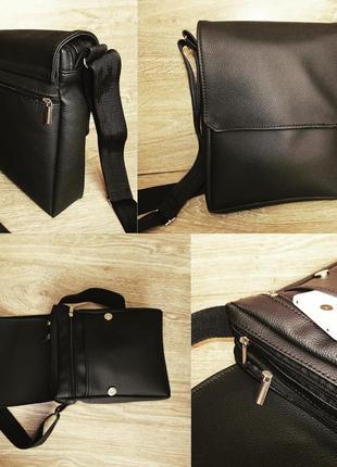 Качественная мужская сумка месенджер