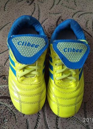 Детские футбольные бутсы clibee