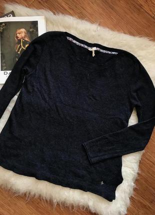 Теплый  свитер white stuff, шерсть+камемир