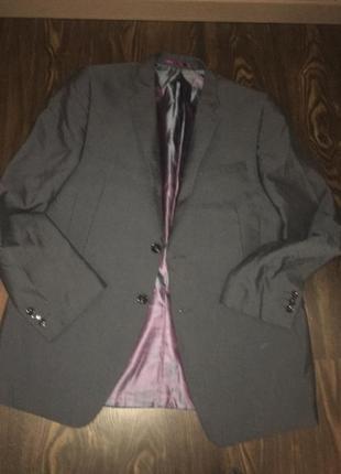 Будьте на стиле в костюме marks & spencer (серо-синий)