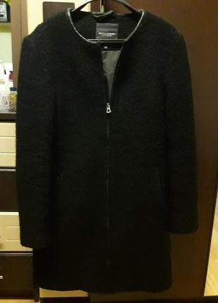 Пальто шерстяное букле