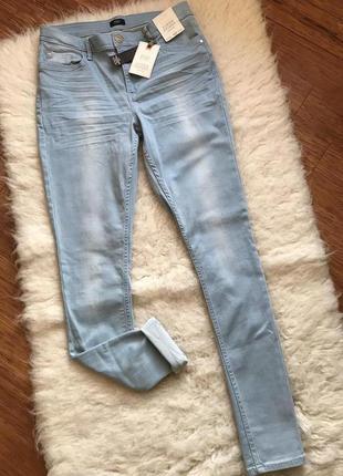 Зауженные джинсы, большой размер