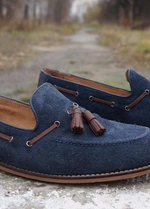 Чоловічі лофери, туфлі hudson london