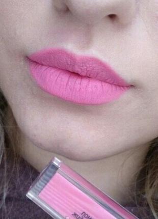 Супер матовая губная помада от relouis. розовая