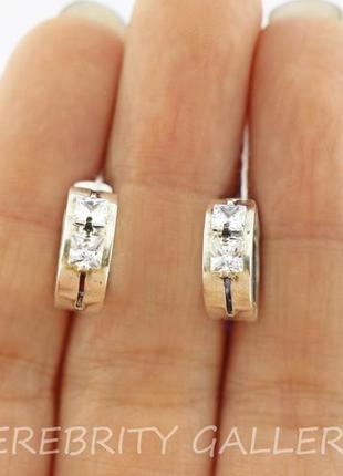 10% скидка - подписчикам! серьги серебряные i 200029 w серебро 925