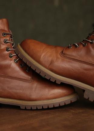 bcab9a8d8c25 Мужские ботинки timberland mens 6-inch premium waterproof brown leather  boots