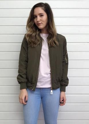 Бомбер курточка куртка