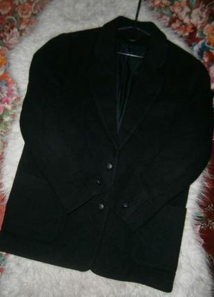 Стильное укороченное пальто