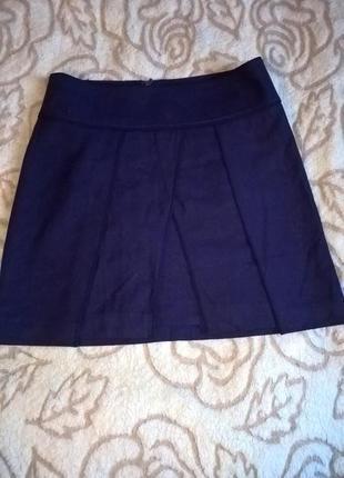Шерстяная юбка turnover1 фото