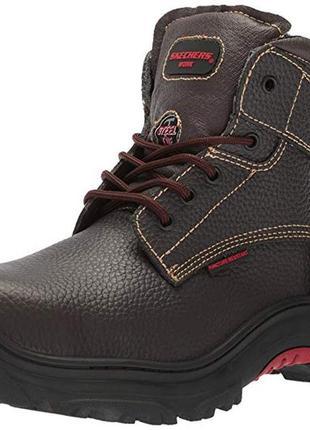 Демисезонные ботинки скечерс skechers. размеры 39, 40. натуральная кожа.