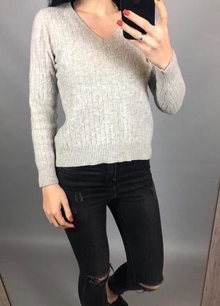 Кашемировый свитер f&f 100% кашемир