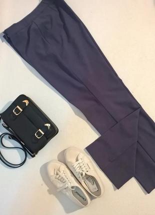 Классические базовые брюки прямые деловой стиль