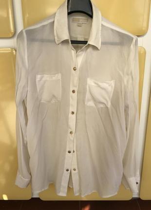 Блуза шелковая michael kors