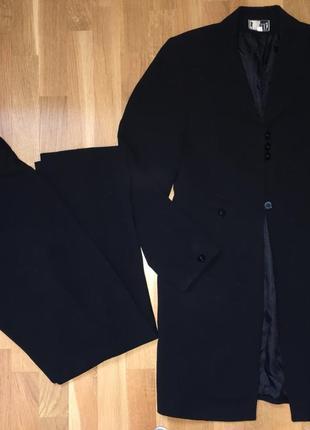 Брючный костюм кардиган пиджак жакет брюки