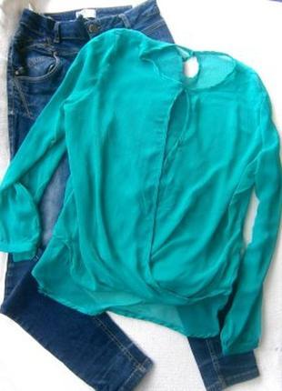Блуза шефоновая размер 46-48