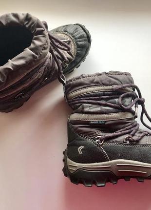 Зимние ботинки geox tex