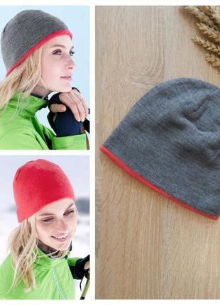 Отличная двусторонняя шапка tcm tchibo германия