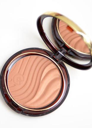 Бронзатор с сиянием collistar terra abbronzante duo bronzing powder 1 cortina тестер