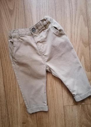 Штаны штанишки zara на 6-9 мес