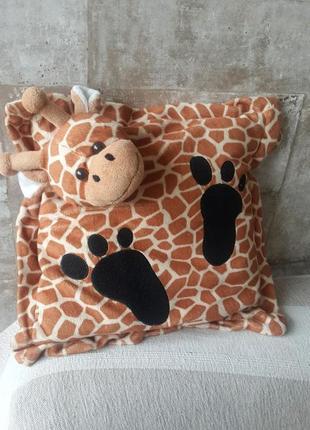 Декоративная подушка жираф