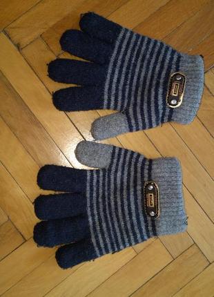 Теплі рукавички
