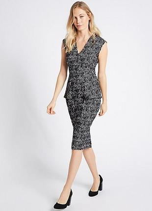 Marks & spenser платье миди, 12