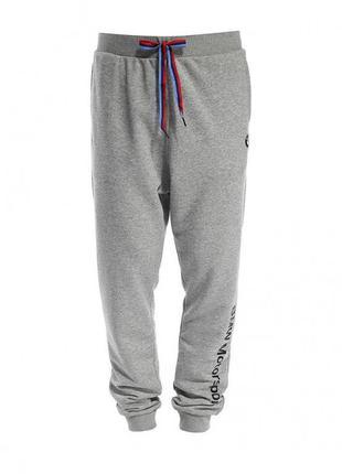 Брюки спортивные puma bmw msp sweat pants grey heather р. xxl оригинал
