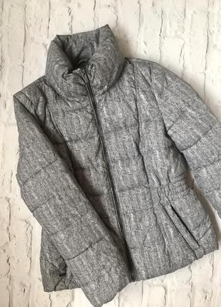 Непромокаемая тёплая осенняя зимняя демисезонная непродуваемая куртка с капюшоном скрытым