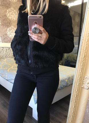 Тёплая , двусторонняя куртка