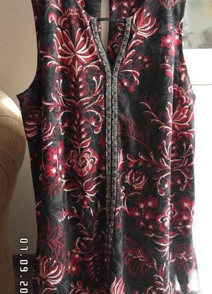 Нарядная блуза туника