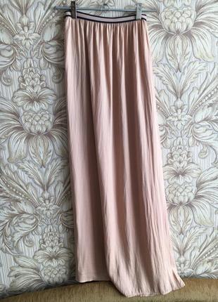 Макси юбка длинная юбка zara