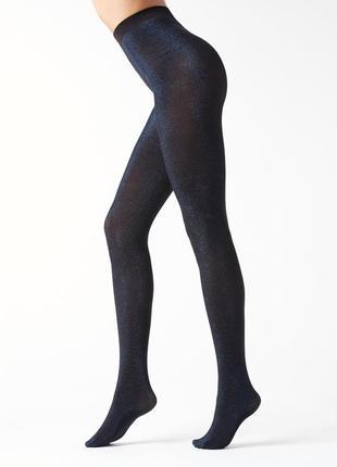 Calzedonia fashion tights плотные колготки с люрексовой нитью