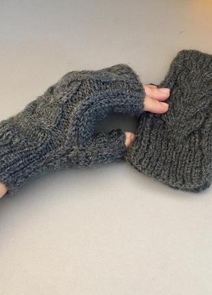 Стильні рукавички- мітинки