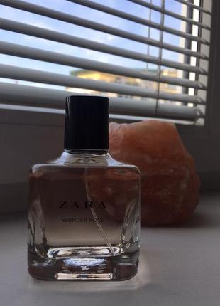 Zara wonder rose парфюм духи оригинал