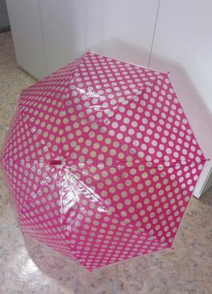 Яркий зонт трость
