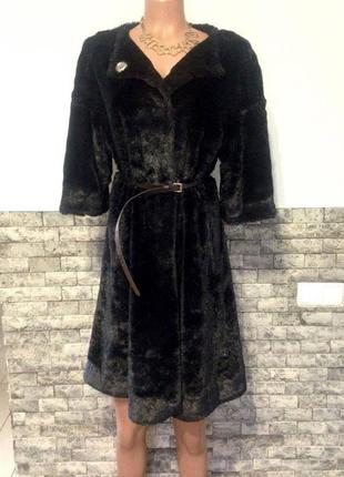 Меховое пальто kira plastinina