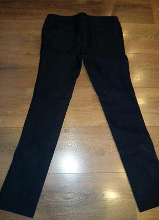 Классические черные брюки зимние очень теплые