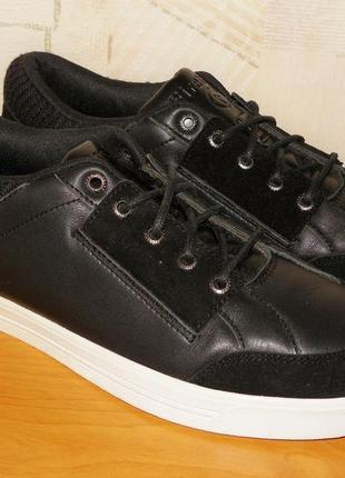 Кожаные кроссовки firetrap р.41 - 26.5 см
