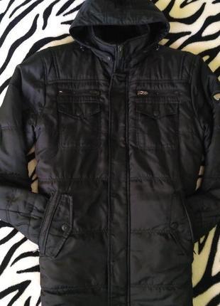 Зимняя мужская куртка, парка
