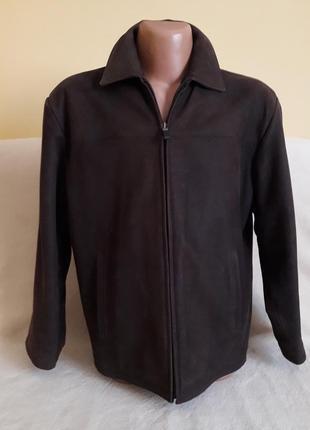 Натуральная кожаная куртка фирмы angelo litrico by c&a p. l