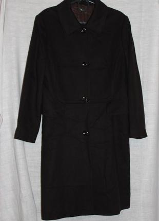 Лаконичное пальто van laack мериносовая шерсть и кашемир